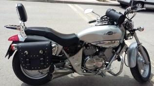 alforjas motos custom kimco