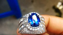 Blue Safir Ceylon - (YouTube: JaRAs Jewelry)