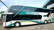 Armada bus double decker Garuda Mas (youtube: Bis Malam)