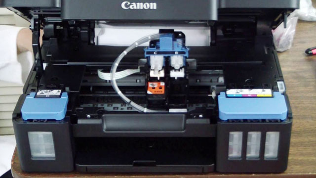 Cartridge Printer Canon G2000 - (Youtube: Terry Wirth)