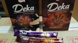 Deka Wafer Roll Choco Banana - shopee.co.id