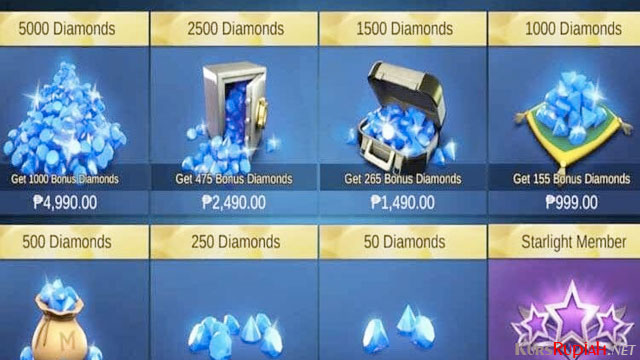Diamond Mobile Legend - (Sumber: duniagames.co.id)