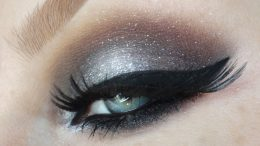 Eye Shadow Warna Silver - (Youtube: Kristiana Zaula)