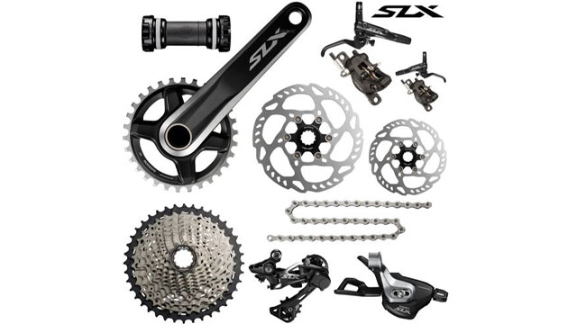Groupset Shimano SLX - www.chainreactioncycles.com
