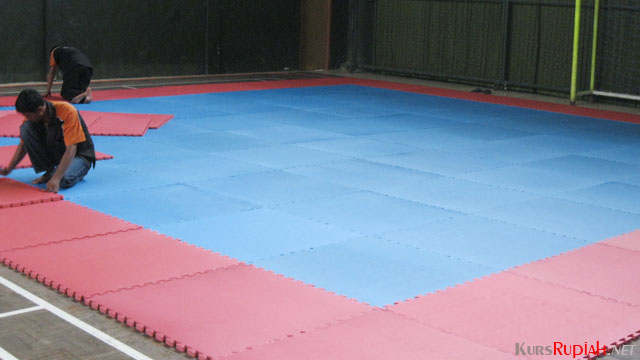 Matras Karate - (Sumber: harmonykarpet.blogspot.co.id)