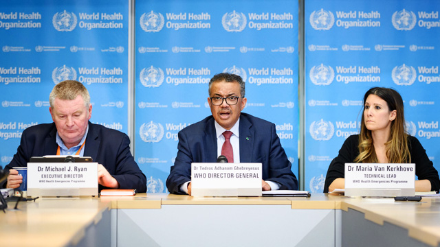 Pejabat World Health Organization (WHO) - www.wuwf.org