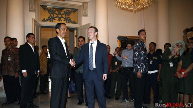 President Joko Widodo and Mark Zuckerberg - asia.nikkei.com
