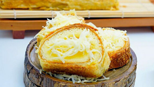Queenroll, cheese cake ala Sandra Dewi