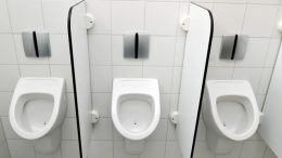 Sekat Urinoir Toilet - www.dis.or.id