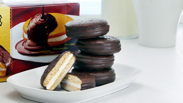 Soft Cake Lotte Choco Pie (sumber: lotte.co.id)