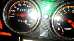 Speedometer Variasi Tiger - (Youtube: Rey Motovlog Custom)