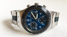 Swatch Chronograph Irony V8 Mens quartz watch