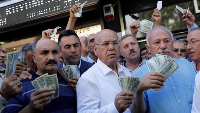 Turki Gugat Otoritas Dolar AS di Pasar Global - www.trtworld.com