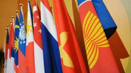 Bendera negara-negara ASEAN (sumber: brookings.edu)