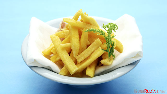 Sajian french fries