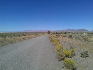 Off Winnemucca Ranch Rd onto Fish Springs Rd