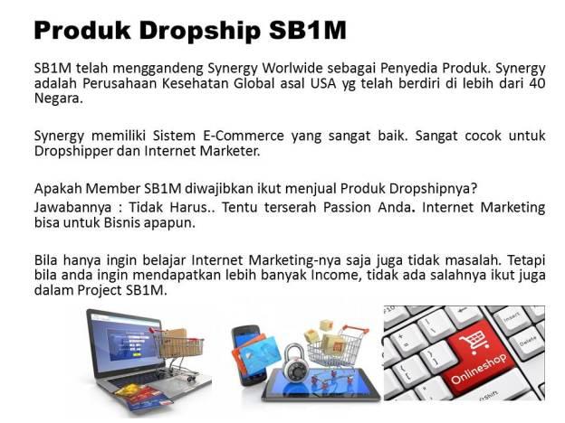 Produk Dropship di SB1M