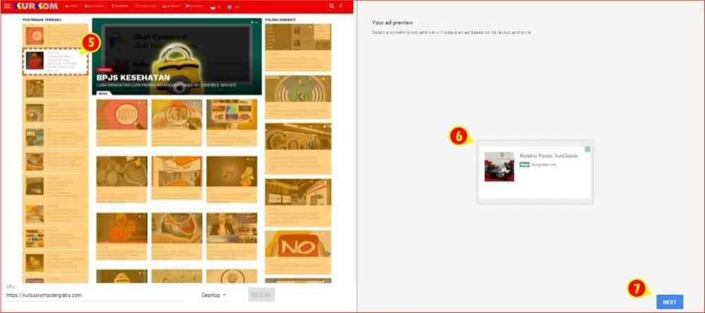 Pemindaian Perayap AdSense untuk menampilkan banner infeed.jpg