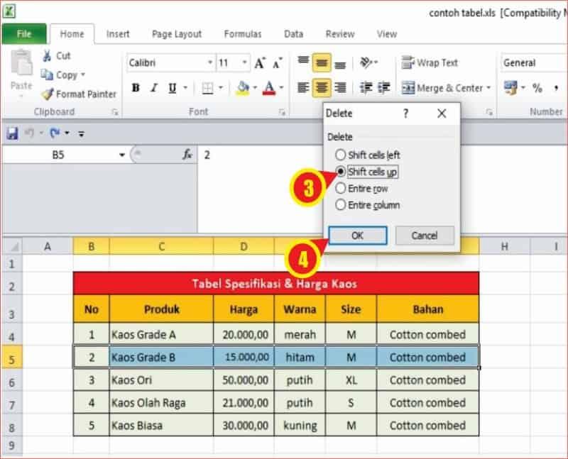 cara menghapus baris data dalam tabel MS excel.jpg