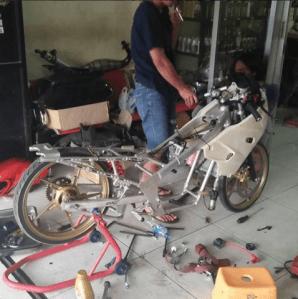 Banyak Joki Balap Sekarang Membuka Bengkel Modifikasi Motor, Ini Penyebabnya