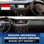 Mengapa indonesia pake right driving bukan left driving?