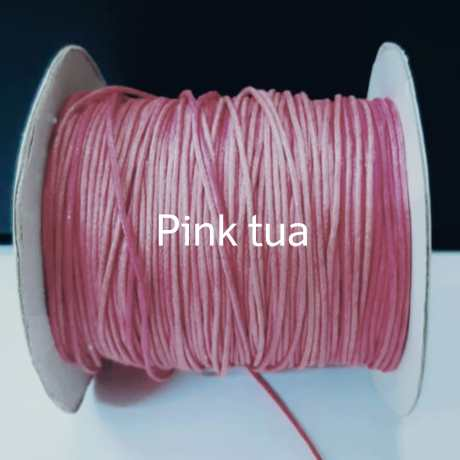 Tali kalung pink tua