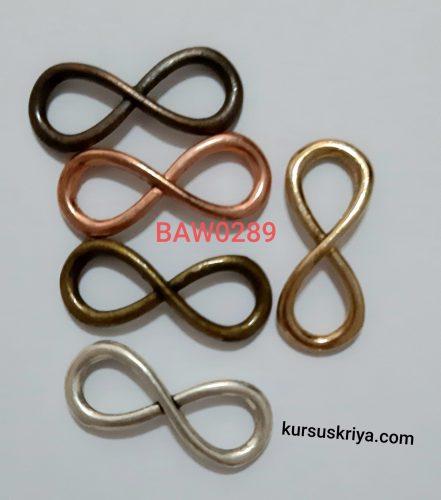 Connector infinity untuk gelang