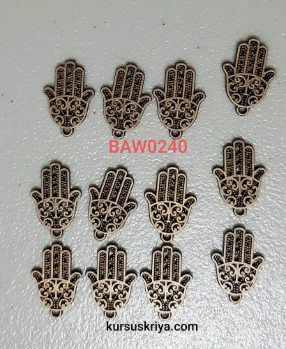 Hand of fatima charm ukuran kecil