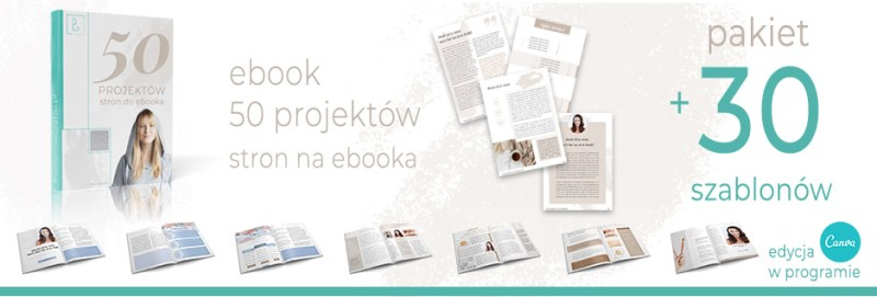 ebook i szablony na Canve