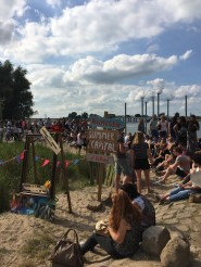The 100th Four Days Marches party in Nijmegen, The Netherlands.