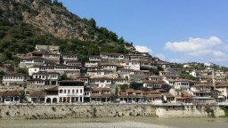Town of a Thousand Windows, in Berat, Albania.
