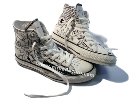 Kurt Cobain Converse Collection One Star