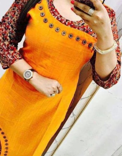 heavy cotton full stiched kurti