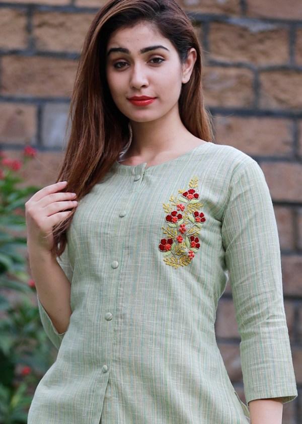 south cotton kurti pant 4