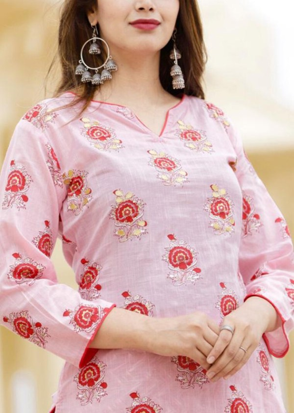 cotton flex kurti and pant