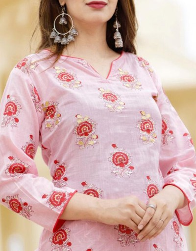 cotton flex kurti and pant