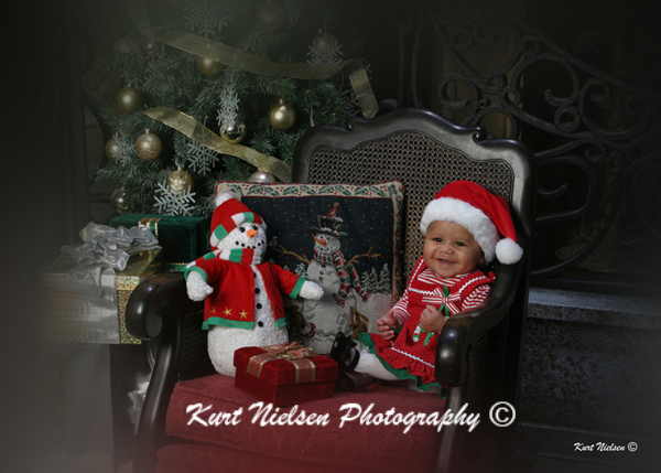 Toledo Baby Photographer for Christmas Photos