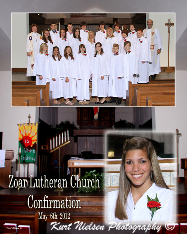 Sunday School Confirmation Photographer