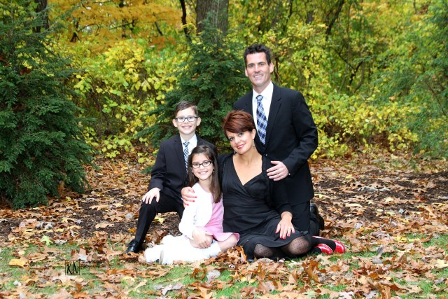 formal fall family portraits sylvania ohio