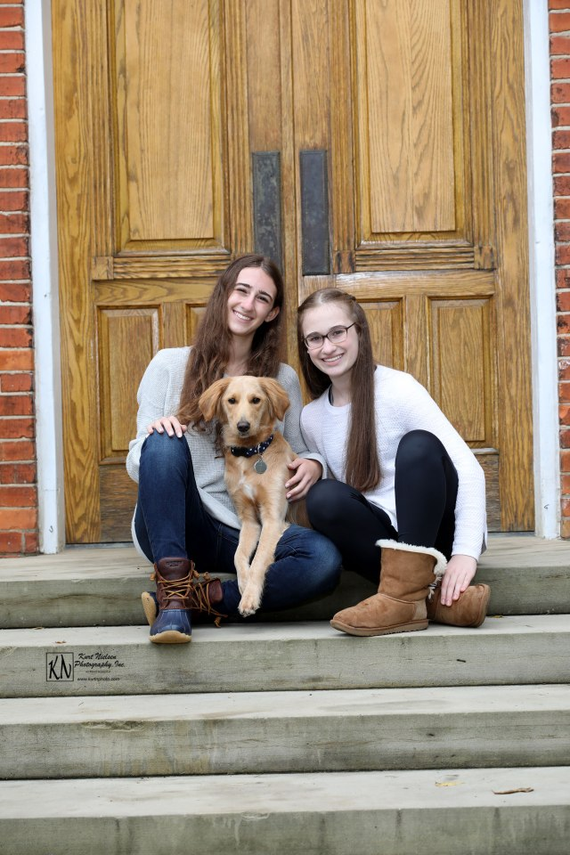fall family photos with your dog
