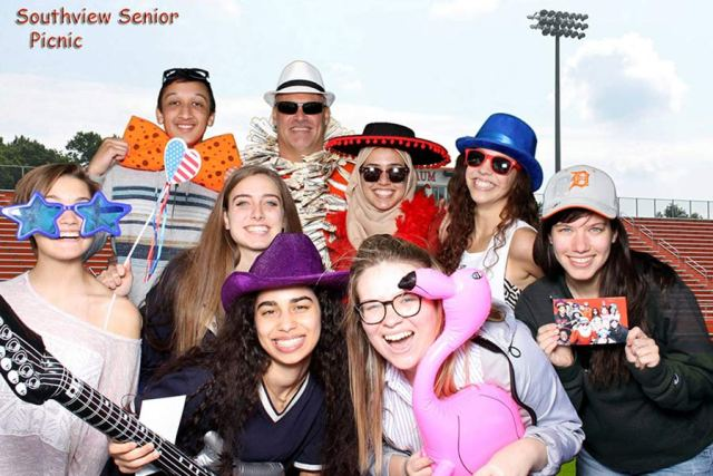 School Picnic Photo Booth