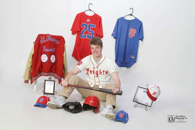 st francis de sales knights baseball senior photos
