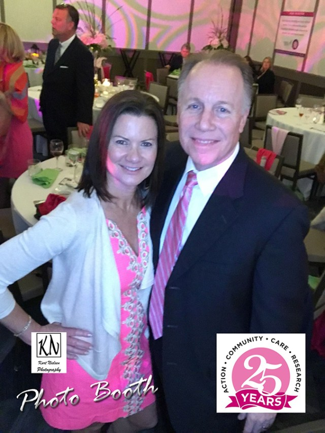 Jay and Mindy Romanoff at the Komen NWO 25th anniversary gala