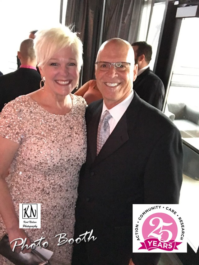 Chrys Peterson and Tom Runnells at the Susan G. Komen NWO 25th Anniversary Gala An Evening in Bloom