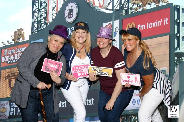 photo booth at Comerica Park in detroit michigan