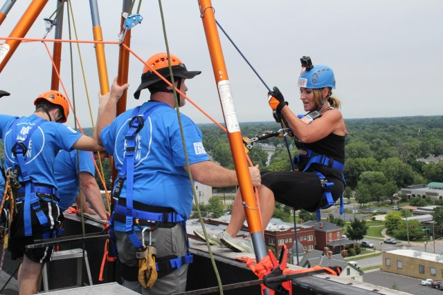 Founder of GiGi's Playhouse Goes Over the Edge