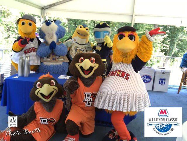 Mascot Day at the LPGA Marathon Classic