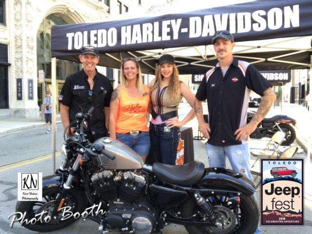 Toledo Harley Davidson at Toledo jeep Fest 2018