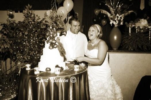 Cutting the Wedding Cake pics