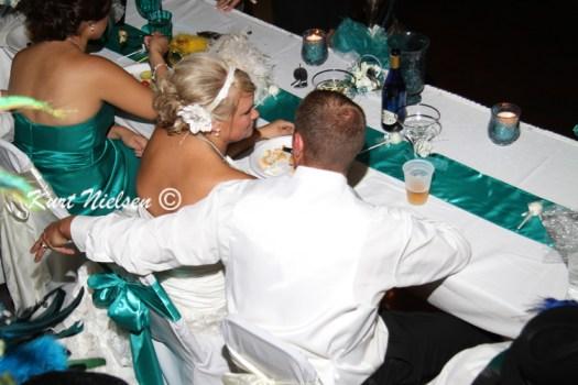 Bride and Groom Dinner